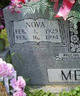 Nova <I>McDaniel</I> Metcalf