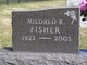 Mildred R. <I>Musselman</I> Fisher