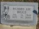 Profile photo:  Richard Lee Biggs