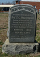 Profile photo: Rev C. C. Washington