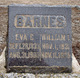"Eveline C. ""Eva"" <I>Taylor</I> Barnes"
