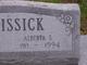 Alberta <I>S</I> McKissick