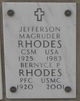 Profile photo: PFC Bernyce A <I>Poehlman</I> Rhodes