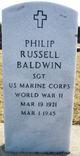 Sgt Philip Russell Baldwin