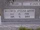 Mildred Jessine <I>Keefe</I> McKissick