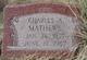 Charles A Mathews
