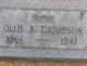 Ollie <I>Rhodes</I> Thompson