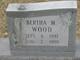 Bertha Minerva Wood