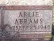 Profile photo:  Arlie Abrams