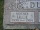 Lillie S. <I>Matt</I> Dubuque