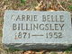 Carrie Belle Billingsley