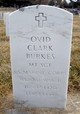 Profile photo: Sgt Ovid Clark Burkes