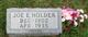 """Joseph Elmer """"Joe"""" Holder"""
