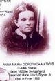 Profile photo:  Anna Maria Dorothea <I>Mathis</I> Bryner