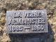 Laverne A. <I>Ferguson</I> Armbruster