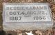 Bessie Cecelia <I>Varner</I> Adams