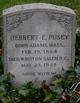Herbert E. Pusey