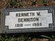 Kenneth W Dennison
