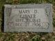 Profile photo:  Mary <I>Dodge</I> Gibner