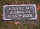 Louise M Johnson