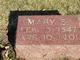 Mary S Wilson