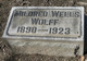 Mildred <I>Wells</I> Wolff
