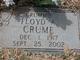 "Floyd Avery ""Crummie"" Crume"