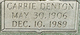 """Carrie Lee """"Ma"""" <I>Baines</I> Denton"""