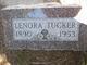 Lenora Estelle <I>Morrow</I> Tucker