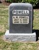 Profile photo:  A W Powell
