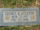 George G Agerton