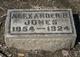 Alexander B Jones