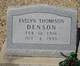 Profile photo:  Evelyn <I>Thomison</I> Denson