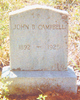 Profile photo:  John Brown Campbell, Sr