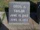 Cecil J Taylor