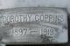 Profile photo:  Dorothy Coppins
