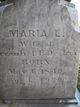 Maria L. <I>Brown</I> Decker