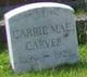 Profile photo:  Carrie Mae <I>Mullins</I> Carver
