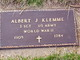 Profile photo: Sgt Albert J. Klemme