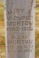 Profile photo:  Allan Morton