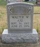 Walter W Axe