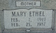 Mary Ethel <I>Butler</I> Morgan