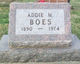 Profile photo:  Addie M. Boes