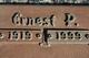 Ernest Preston Parkhurst
