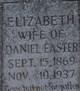 Elizabeth Jane <I>Leftwich</I> Easter
