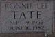 Ronnie Lee Tate