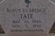 Rufus Clarence Tate