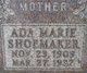 Ada Marie <I>Predmore</I> Shoemaker