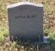 Anna L. <I>Vinson</I> Burt