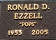 Profile photo:  Ronald D. Ezzell